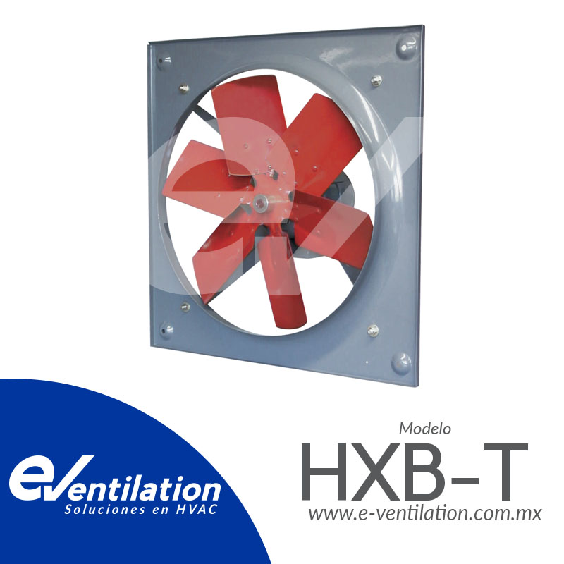 HXB-T EXTRACTORES AXIALES